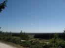 Blick vom Rundwanderweg in die Senne