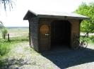 Schutzhütte des Heimatvereines am Rundwanderweg O