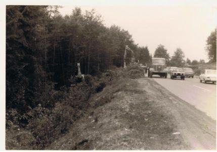 Ausbau Der Waldstrasse Ca 1954 20131223 1331192231