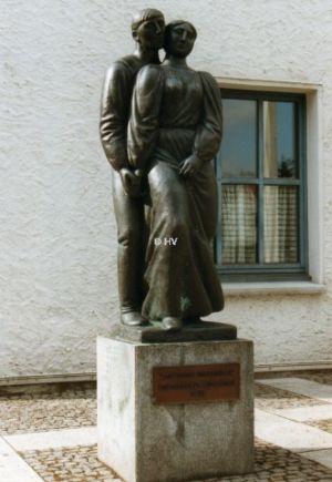 Tanzendes Bauernpaar Gastgeschenk Der Partnergemeinde Wanzleben 20120327 1063502562
